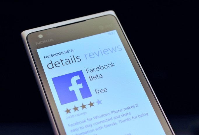 Facebook beta cho windows phone 7x