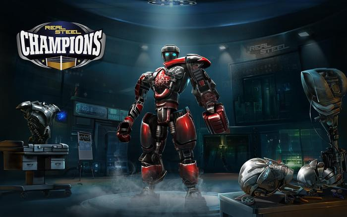 Real steal champions - đại chiến robot - 1