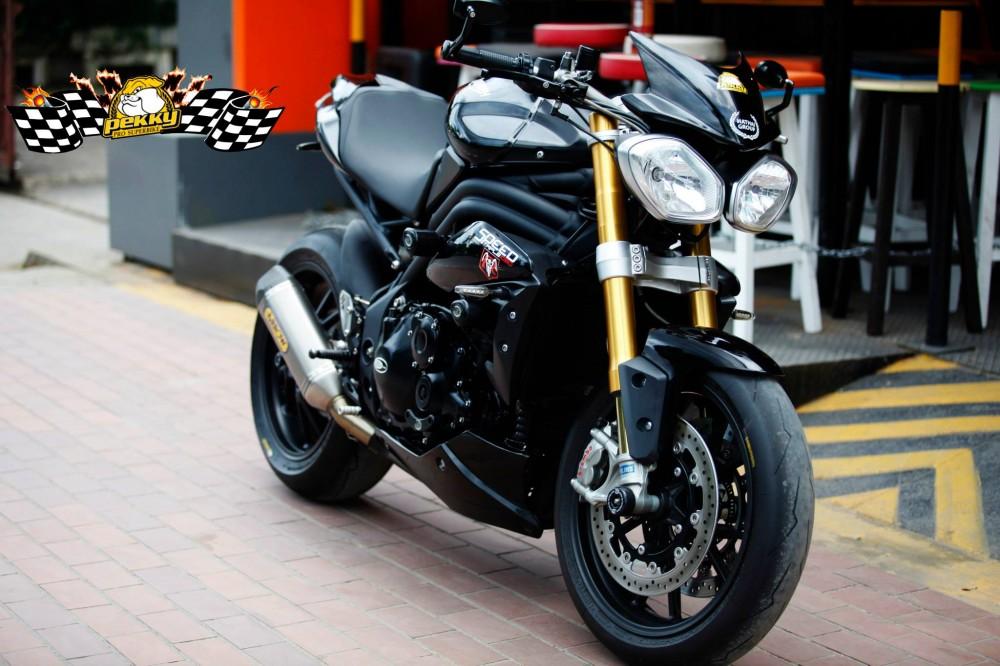 Triumph speed triple độ phiên bản sang chảnh - 11