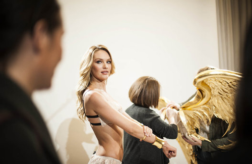 thiên thần candice swanepoel thử nội y victorias secret 2014