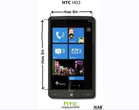 Htc hd3 - siêu phẩm chạy windows phone 7 - 1