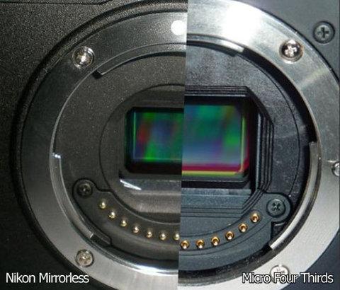 Máy ảnh mirrorless của nikon có thể mang hệ số crop 27x - 1