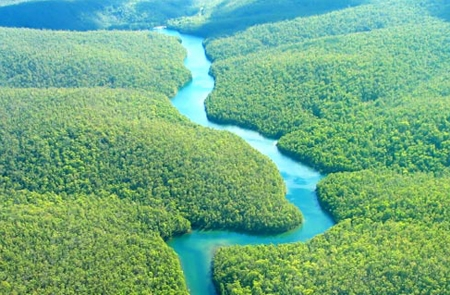 Tại sao các con sông đều uốn khúc mà không chảy theo một đường thẳng - 1