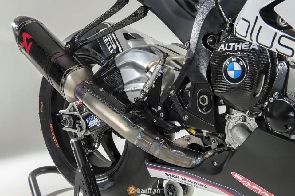 Bmw s1000rr 2015 siêu chất với phiên bản đường đua từ althea racing - 8