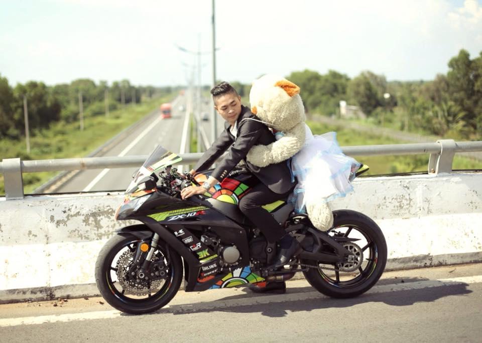 Brt team cùng anh em biker miền tây trong buổi rước dâu hoành tráng