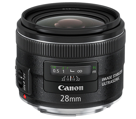 Canon ra 24-70mm f28 bản ii và hai ống fix mới