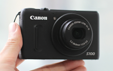 Canon thừa nhận lỗi ống kính trên s100 - 1