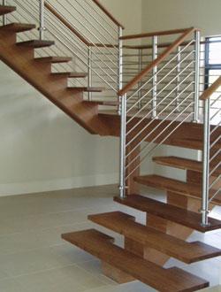 Đẹp với cầu thang gỗ - 3