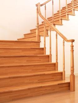 Đẹp với cầu thang gỗ - 5