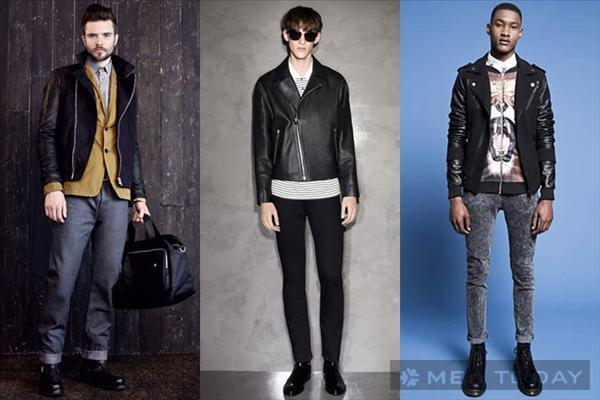 Gợi ý mix đồ nam đa phong cách cùng biker jacket