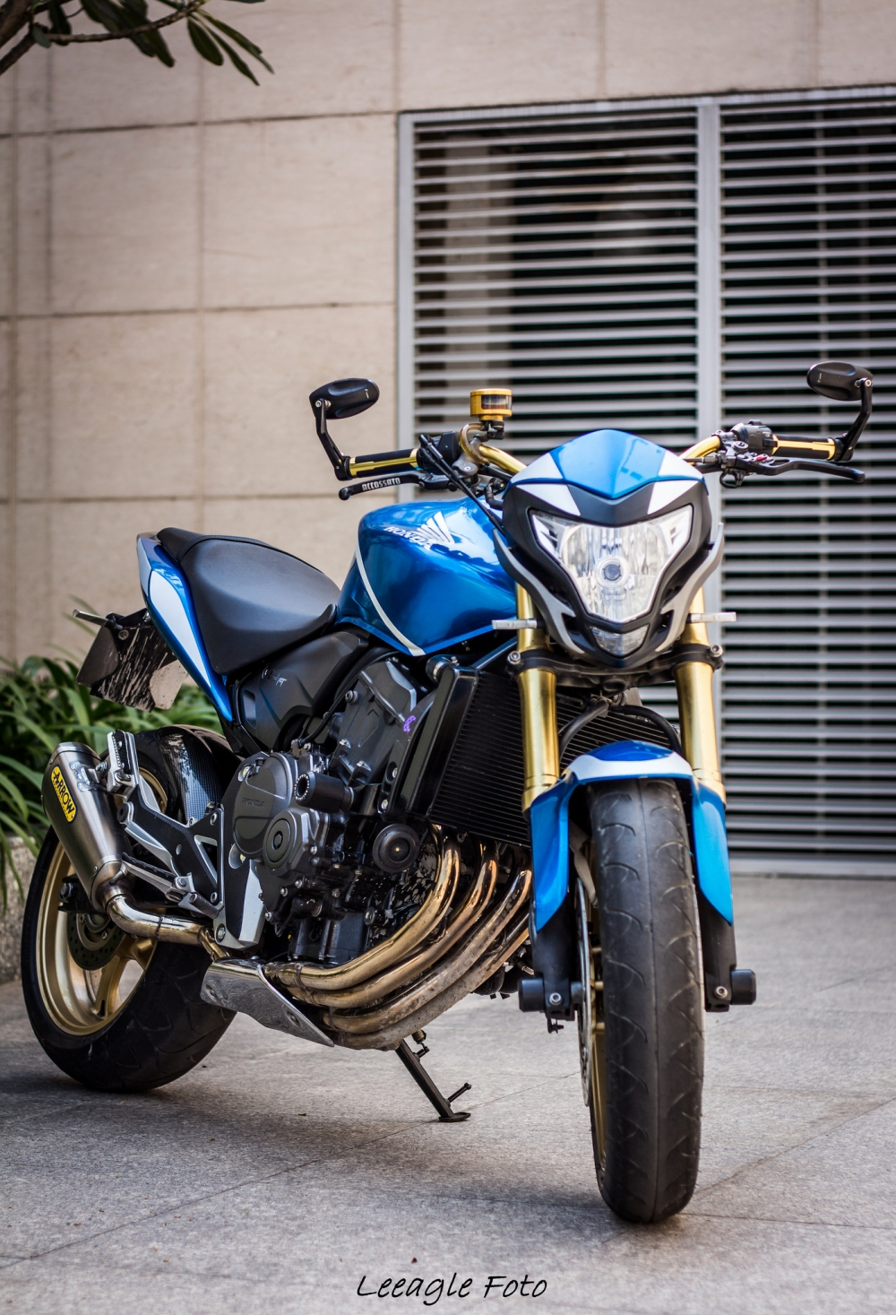 Honda cb600f độ siêu chất của một biker sài thành