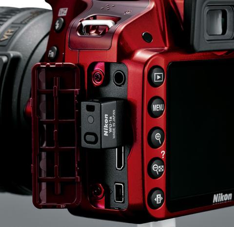 Nikon ra d3200 hỗ trợ kết nối wi-fi - 2