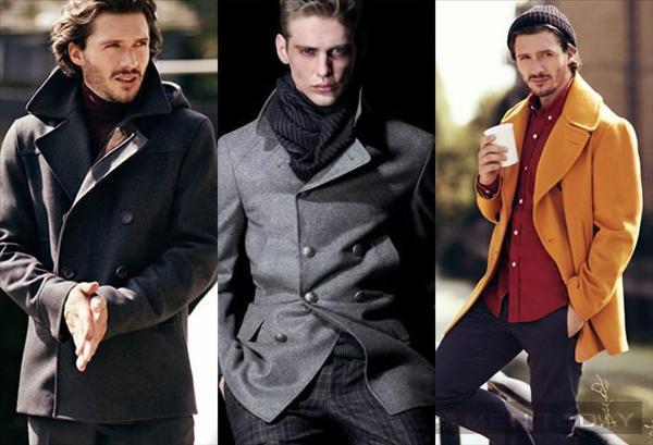 Pea coat và 4 cách phối đồ nam mùa đông 2013 - 2
