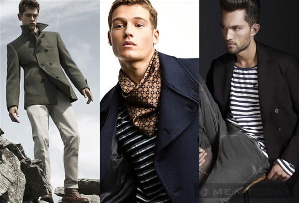 Pea coat và 4 cách phối đồ nam mùa đông 2013 - 7