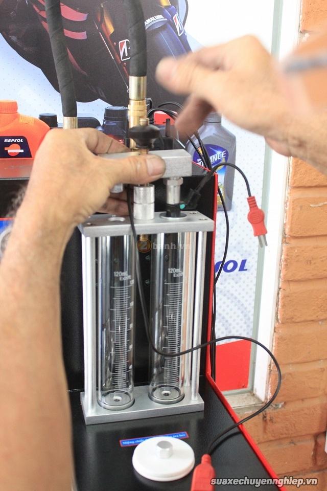Quy trình vệ sinh kim phun xăng điện tử xe máy - 6