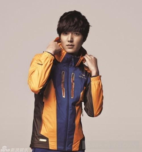 Tham khảo trang phục dã ngoại từ Lee Min Ho
