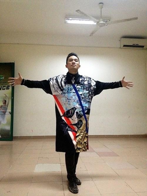 Diện áo dài họa tiết đẹp noo phước thịnh sơn tùng - 13
