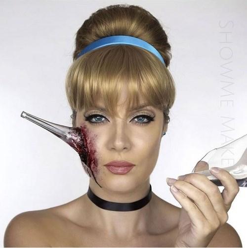 Hình ảnh máu me của các nàng công chúa disney dịp halloween - 1