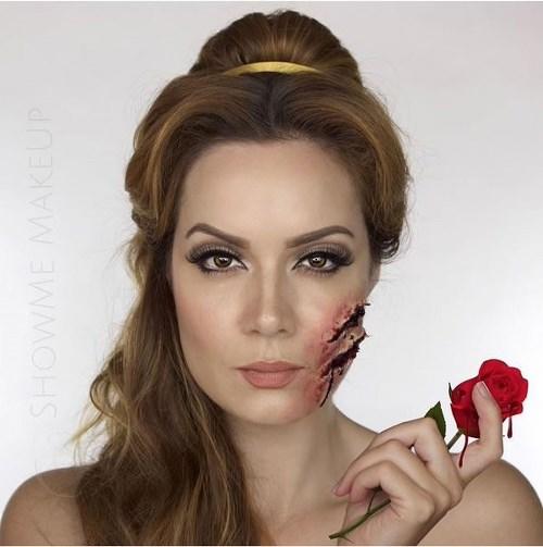 Hình ảnh máu me của các nàng công chúa disney dịp halloween - 4