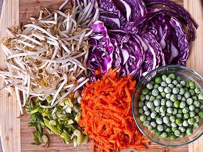 Mỳ trộn rau củ - 2