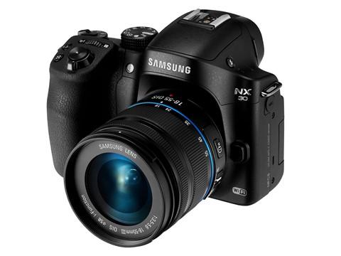 Samsung cho đổi miễn phí máy dslr sang nx30