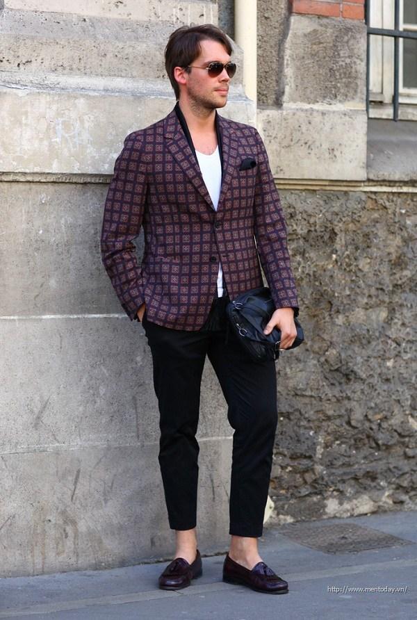 Vest lịch lãm và bay bổng với quý ông Paris