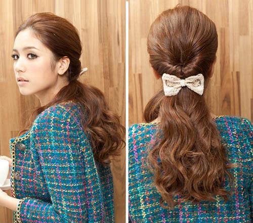 3 kiểu tóc đẹp dễ làm giúp bạn gái gây thương nhớ - 1