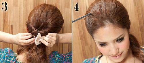 3 kiểu tóc đẹp dễ làm giúp bạn gái gây thương nhớ - 3
