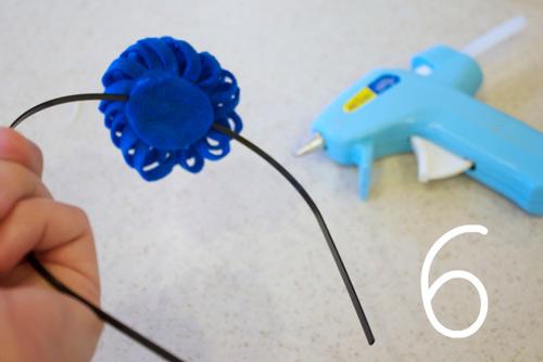3 phút làm bờm hoa điệu cho bé - 6