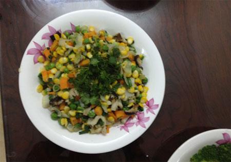 Bữa cơm chay thanh tịnh - 5