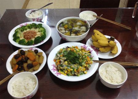Bữa cơm chay thanh tịnh - 6
