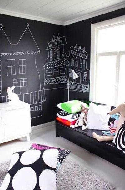 Bức tường sáng tạo cho bé tha hồ vẽ - 1