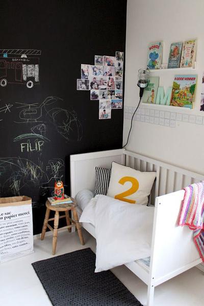Bức tường sáng tạo cho bé tha hồ vẽ - 3