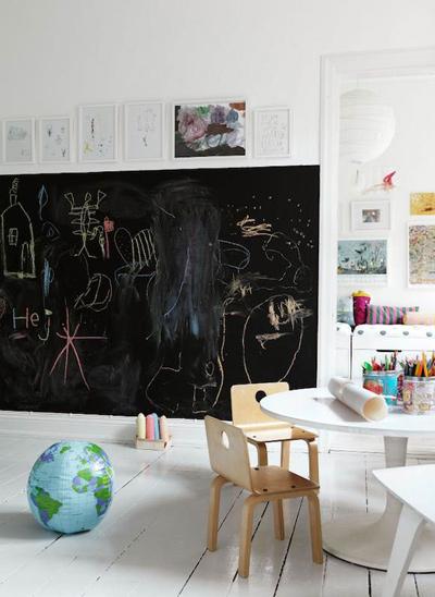 Bức tường sáng tạo cho bé tha hồ vẽ - 6