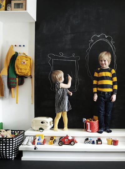 Bức tường sáng tạo cho bé tha hồ vẽ - 8