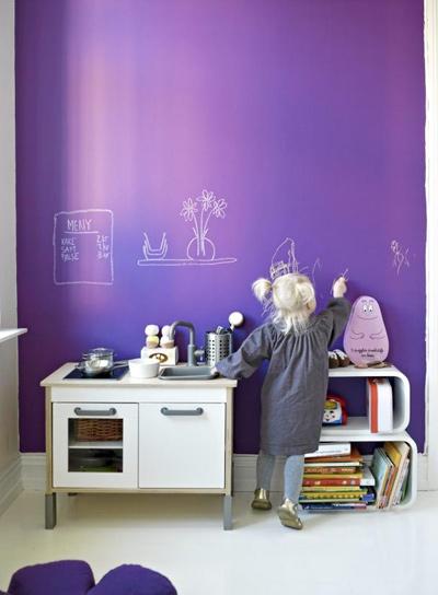 Bức tường sáng tạo cho bé tha hồ vẽ - 10