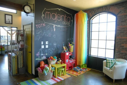 Bức tường sáng tạo cho bé tha hồ vẽ - 11