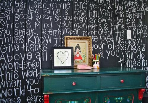 Bức tường sáng tạo cho bé tha hồ vẽ - 12