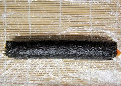 Cách làm cơm cuộn đơn giản - 6