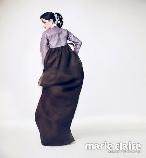 Chấm điểm sao hàn mặc áo hanbok truyền thống - 3