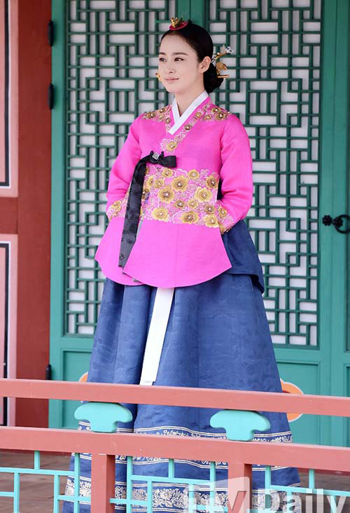 Chấm điểm sao hàn mặc áo hanbok truyền thống - 6