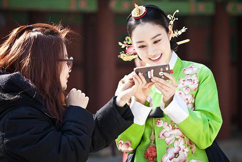 Chấm điểm sao hàn mặc áo hanbok truyền thống - 9