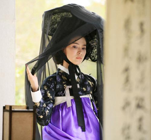 Chấm điểm sao hàn mặc áo hanbok truyền thống - 11