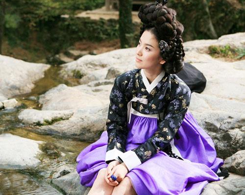 Chấm điểm sao hàn mặc áo hanbok truyền thống - 12