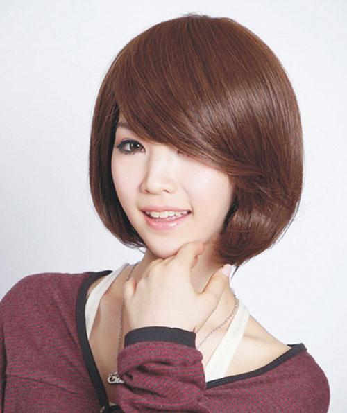 Chọn tóc mái hợp với khuôn mặt để ăn gian tuổi