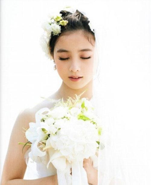 Cô dâu nhật bản 16 tuổi xinh đẹp gây sốt mạng - 12