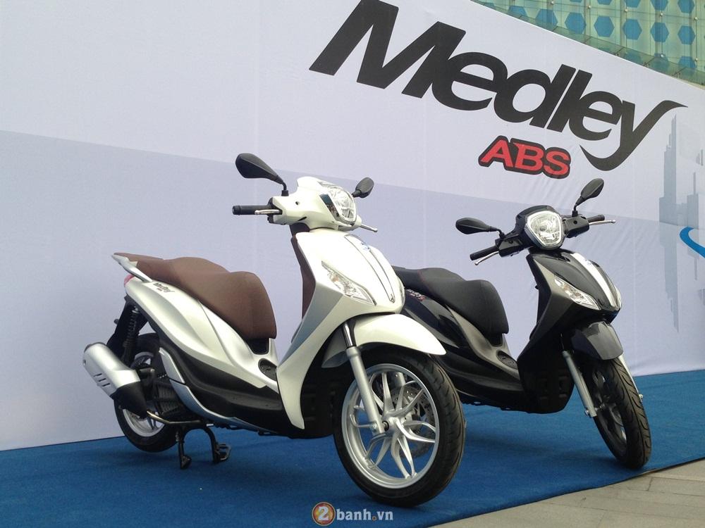 Đánh giá piaggio medley abs - giá xe và chi tiết hình ảnh - 1
