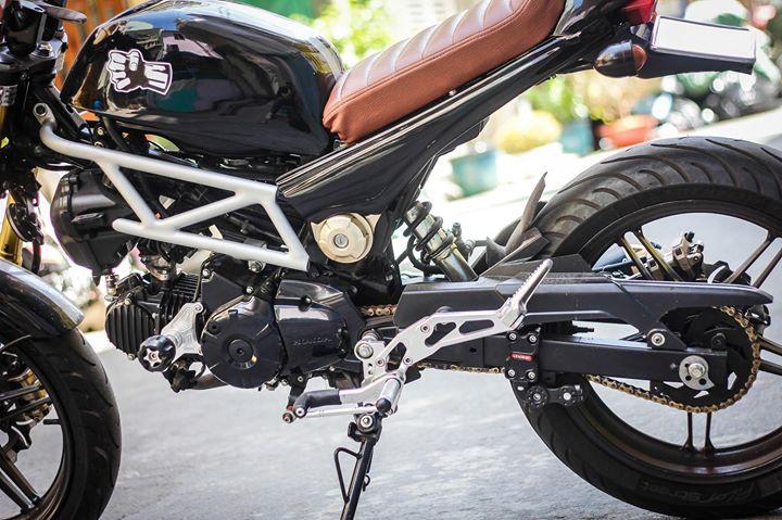 Honda msx 125 đầy ấn tượng với bản độ tracker tại việt nam