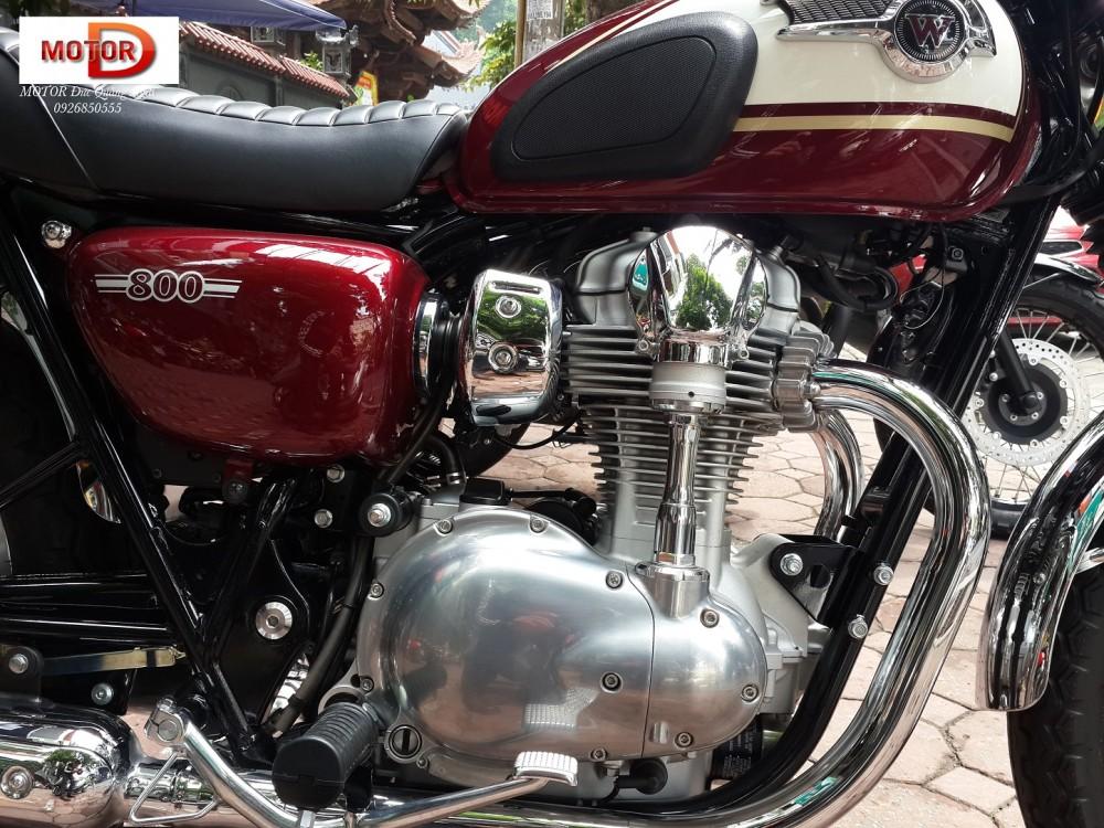 Kawasaki w800 - mẫu xe retro hàng hiệu thế giới - 6
