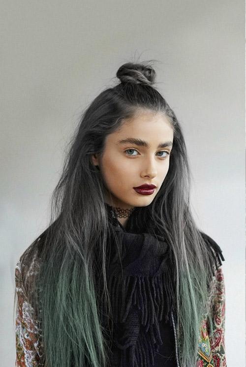Màu tóc lên ngôi dành cho nàng cá tính mạnh - 9